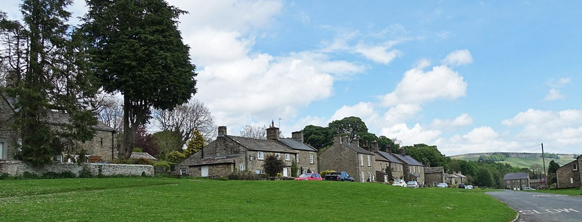 Castle Bolton in Wensleydale in the Yorkshire Dales
