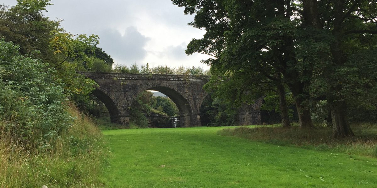 Viaduct at Mossdale Head
